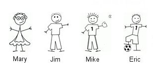 Jim's Family